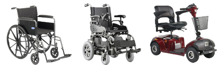 Rent mobility equipment